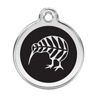 Red Dingo Dog Cat Pet ID Tag Charm FREE Personalized Engraving KIWI BIRD