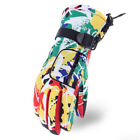 Waterproof Winter Outdoor Sports Colorful Thicker Non-Slip Skiing Riding Gloves