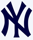 New York Yankees Logo Vinyl Decal Sticker - You Pick Color & Size on Ebay