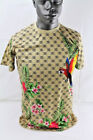 Bleecker & Mercer S/S FASHION RETRO PRINT T-SHIRT KHAKI T776