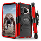 Galaxy S9 &amp; S9 Plus Case, Evocel Rugged Holster Dual Layer Case w/ Kickstand <br/> OFFICIAL STORE | FREE SHIPPING | SATISFACTION GUARANTEE