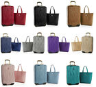 Внешний вид - $382 JOY Metallic Set E*Lite Travel Medium Hardside Luggage and Leather Tote
