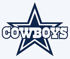 Dallas Cowboys Logo 2-Color Vinyl Decal Sticker - You Pick Size on eBay