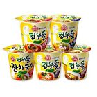 OTTUGI Korean Instant Noodle Soup Cup 10pc MealReplacement 10-Day WeightLoss