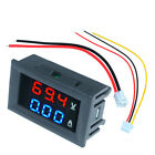 Digital Red LED Voltage Meter DC100V 10A Voltmeter Ammeter Blue+Red LED Amp Dual <br/> 5 or more Pieces, 5% discount will be provided