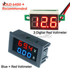 Внешний вид - Digital Red LED Voltage Meter DC100V 10A Voltmeter Ammeter Blue+Red LED Amp Dual