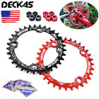 DECKAS MTB Bike Chainring BCD104mm Narrow Wide Round/Oval Chain Ring 32T-38T