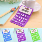 Portable Solar Power Touch Silicone Scientific Calculator Student Study Showy