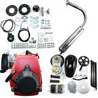 49CC 4-Stroke GAS Petrol Motorized Bike Bicycle Engine Motor Kit Scooter USA