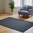 NEW ANTHRACITE MODERN PROVENCE PLANE MAT NON SLIP QUALITY RUG SALE CLEARANCE RUG