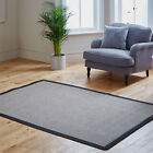 NEW PLANE MAT GREY BLACK MODERN PROVENCE NON SLIP QUALITY RUG SALE CLEARANCE RUG