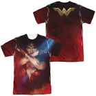 Wonder Woman Movie ARMS CROSSED Pose 2-Sided All Over Print Poly T-Shirt