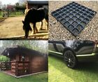 ECO SHED BASE, GRAVEL GRID, DRIVE MAT 8m x 4.5m + ALL SIZES HD THICK Plastic P