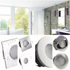 IP65 Bathroom Downlights Round or Square 3 Colours GU10 5 - 7 Watt white or warm