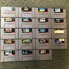 super mario world online - Super Nintendo SNES Games Mario Paint World, Sports ect...