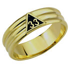 T23 Scottish Rite 33 Degree Ring 33rd Thirty Third Freemason Mason Freemason