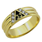 T24 Scottish Rite 33 Degree Ring 33rd Thirty Third Freemason Mason Freemason