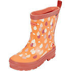 Viking Footwear Dråpe Rubber Boots Kids Coral 2018 Gummistiefel orange