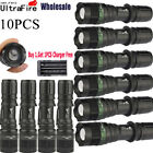 Ultrafire 20000Lumen T6 LED Flashlight Torch Lamp Tactical Zoomable Light 18650