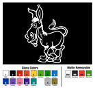 Donkey Decal Window Bumper Sticker Car Decor Cartoon Ass Jackass Horse Pet Mule