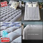 Mattress Pad Cover Cooling Mattress Topper With Thick Cotton 8-21