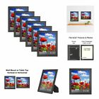 Icona Bay 8 x 10 Inch Picture Frames 8x10, 6 Pack Bulk Set,