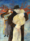 BEN SHAHN FATHER AND CHILD EXPRESSIONISM ART GICLEE PRINT FINE CANVAS