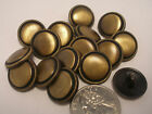 """New lots of antique Brass Finish Metal Buttons 1 1/8,11/16, 7/8"""" & Blazers  #ABO"""