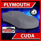 [PLYMOUTH CUDA] CAR COVER - Ultimate Full Custom-Fit All Weather Protection $57.95 USD on eBay