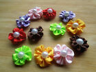50pcs Dog Hair Bows Pet Dog Grooming Hair Clips Accessories