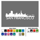 San Francisco Fran California CA State Skyline Skyscapes City View Decal Sticker