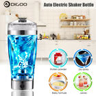 Digoo Vortex Electric Protein Shaker Blender Mixer Bottle Portable Rechargeable