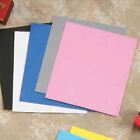 10 Eva Foam Sheets 9.5x12 Arts Crafts Goma Kids DIY White Pink Glitter Esponja