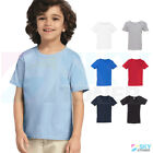 Внешний вид - New! Gildan Heavy Cotton Toddler Kids Plain Short Sleeve T-Shirt 5100P