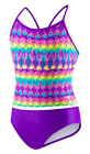 speedo on sale - SALE!! Speedo Girl's Sporty Splice Tankini Swimwear 2 Piece Swimsuit Size 14