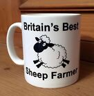 Britain's Best SheepFarmer - Novelty Mug Range