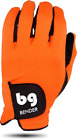 BENDER COLOR GOLF GLOVE ● Orange Spandex - Cabretta Leather