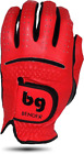 BENDER COLOR GOLF GLOVE ● Red Synthetic - Cabretta Leather