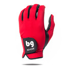 BENDER COLOR GOLF GLOVE ● Red Spandex - Cabretta Leather