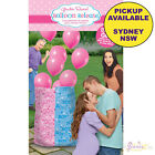 GENDER REVEAL BABY SHOWER PARTY SUPPLIES GIRL BOY LATEX BALLOONS RELEASE BAG KIT