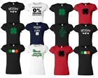 StPatricks Day Womens T Shirt Ireland Funny Irish Paddys Ladies Top Tee Tshirt