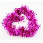 5 / Lot Glitter Tinsel Christmas Tree Ornaments Garland Party Decorations Ribbon