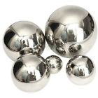 Stainless Steel Mirror Polished Sphere Hollow Ball Home Garden Ornament Decor