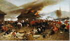 Stretched Canvas - Defence Rorke's Drift Painting Alphonse Neuville Reproduction