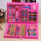 Kid's Water Art Set Color Box Plastic Stationery Painting Crayons Children Pens
