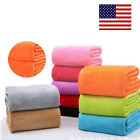 Baby Super Soft Warm Micro Plush Fleece Blanket Throw Rug Sofa Bedding Cover  image