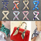 Women Scarves Twilly Ribbon Tied The Bag Handle Decoration Creative Small Scarf