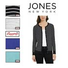 NEW! Jones New York Ladies' Button Front Cardigan Sweater Color VARIETY S - XXL