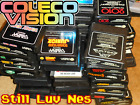 ColecoVision Lot GENUINE Games (100% Authentic) Buy Used Coleco Retro