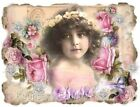 Whimsy Dust Victorian Child Quilt Block Multi Szs FrEE ShiP WoRld Wide (C18